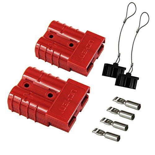 Akku Schnelle verbinden/trennen Kabelbaum Plug Stecker Recovery seilwinde Trailer 6-10Gauge 2 Gauge-jumper-kabel