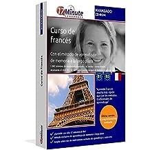 Curso de francés avanzado (B1/B2): Software compatible con Windows y Linux. Aprende francés con el método de aprendizaje de memoria a largo plazo.