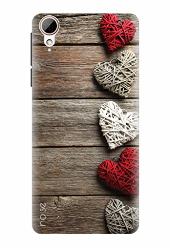 Noise Printed Back Case Cover for HTC Desire 828 specially Designed as Wooden Pattern theme [Printed Hard Shell Case] (VD-55)