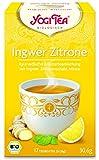Yogi Tee Ingwer-Zitrone - 17 Tee Beutel - Yogi Tea - AB 30,- EURO VERSANDKOSTENFREI in D!