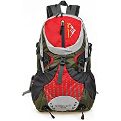 Skysper- 30L Mochila Multifuncional de Senderismo Trekking Mochila Nylon impermeable Morral que acampa Mochila viaje al aire libre