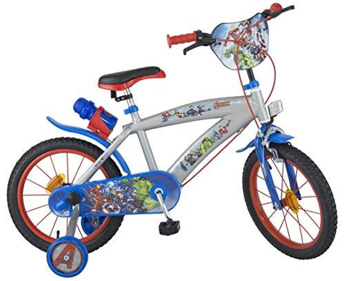 Los Vengadores - Bicicleta niños 5-8 años, 16
