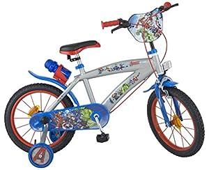 """Los Vengadores - Bicicleta para niños de 5-8 años, 16"""" (Toim)"""