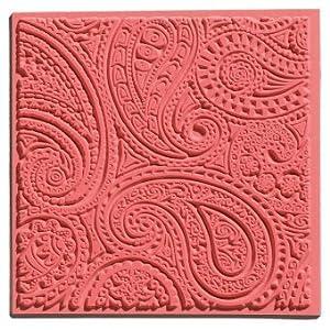 efco 9500510 Texturmatte, Naturkautschuk, 9 x 9 x 0,3 cm, braun