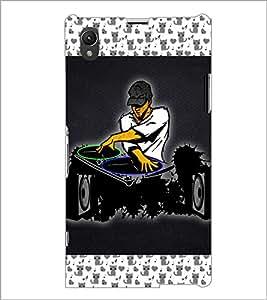 PrintDhaba DJ D-4646 Back Case Cover for SONY XPERIA Z1 (Multi-Coloured)