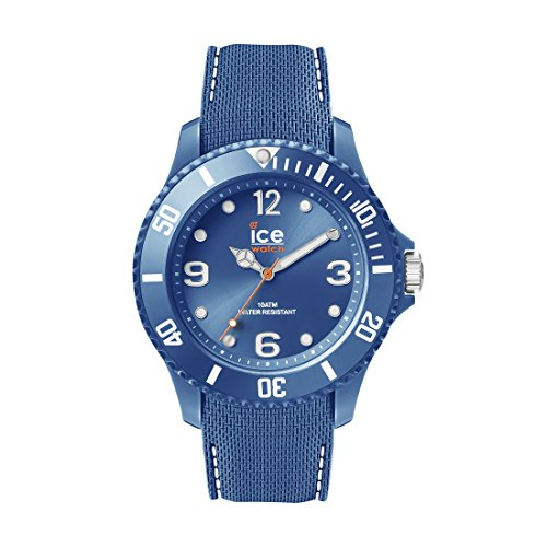 Ice-Watch - ICE sixty nine Blue jean - Montre bleue pour homme avec bracelet en silicone - 013618 (Large)