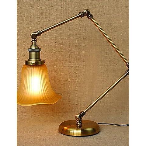 ZSQ Loft stile Designer ripristinando antiche vie è ripiegata di lampada da terra con braccio lungo la regolazione individualità Creative , Lampade 220-240v #403