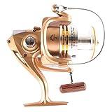 #9: Fishing Spinning Reel, 7BB, Gear Ratio:5.1:1,Exchangeable Handle,UFD6000