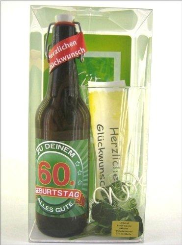 Bierset zum 60. Geburtstag