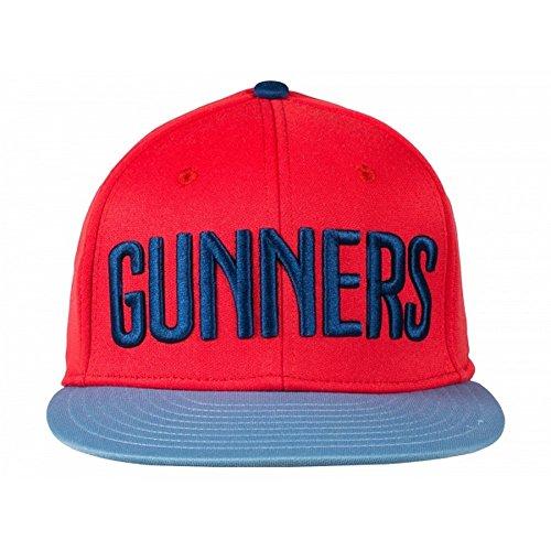Arsenal FC offizielle Puma Stretch Baseball Cap mit Slogan (Einheitsgröße) - Fc Arsenal-fußball-hut