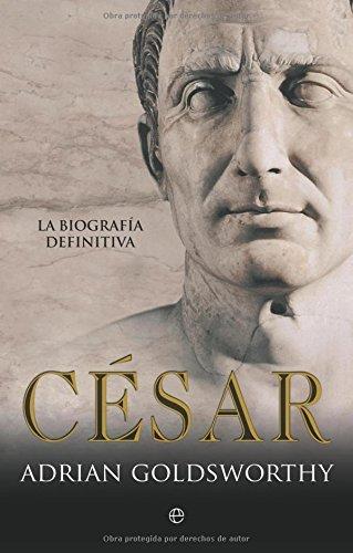 Portada del libro César (Historia)