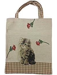 0325e1df24a62 Suchergebnis auf Amazon.de für  katze - Shopper   Damenhandtaschen ...