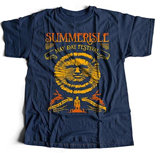 9364n Summerisle Festival Mens T-Shirt The Wicker Man Green Man Inn Lord Burning - Wicker Man-shirt
