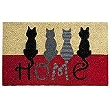 Fußabtreter – Schmutzfangmatte - Kokos Fußmatte Cats Home 40x60 Cm.
