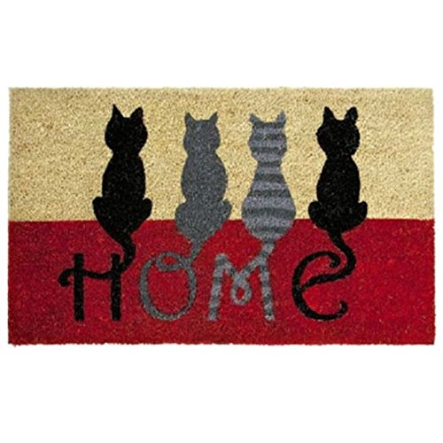 Paillasson Antiderapant 40x60 Cm. Chats Home