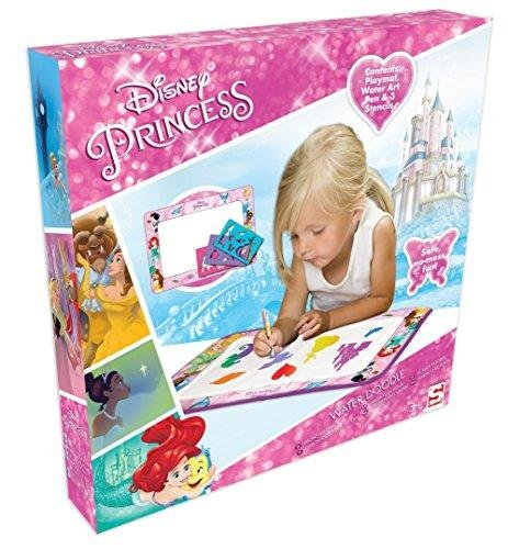 Ensemble de jeu de griffonnage aquatique Disney Princess Aqua