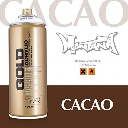 Montana Gold 8120 cacao, 400 ml Sprühdose (Aerosoles Braun)
