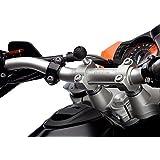 Ultimate Addons - Soporte de manillar de moto para dispositivos móviles (tornillo M8, bola de 25 mm)