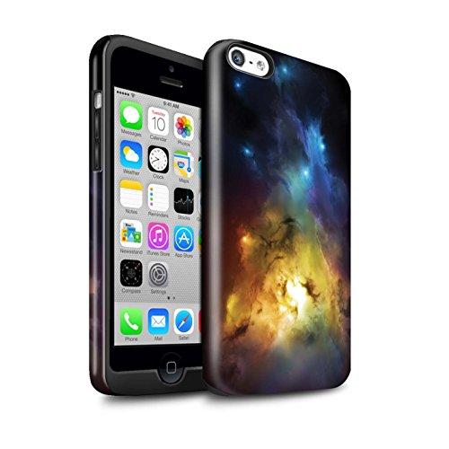 Offiziell Chris Cold Hülle / Glanz Harten Stoßfest Case für Apple iPhone 5C / Pack 12pcs Muster / Fremden Welt Kosmos Kollektion Arcularius Nebel