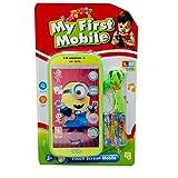 #10: Cute Minion Design Touch Toy Musical Phone