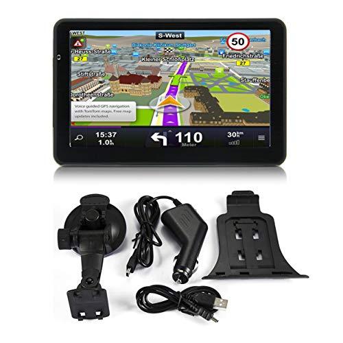 Tree-on-Life 710 7 Zoll Auto LKW GPS Navigation 256 Mt + 8 GB Kapazitiven Bildschirm FM Navigator Rückfahrkamera Berührungssensor Genau Positionieren Tft-lcd-memory-card-slot
