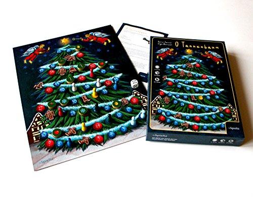 O Tannenbaum! Lustiges Familien-Brettspiel für Weihnachten und Advent.