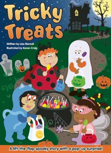 Tricky Treats: A Lift-the-Flap Spooky Story with a Pop-up Surprise! (Play-doh My First)