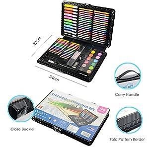 51uXtqVKTqL. SS300  - LIVEHITOP-109-PCS-Artstico-Set-de-Pintura-y-Dibujo-Profesional-Caso-Kit-Colores-Lpices-Acuarela-Rotuladores-Oleo-Pastel-Regalo-para-Nios-Estudiante-Adulto
