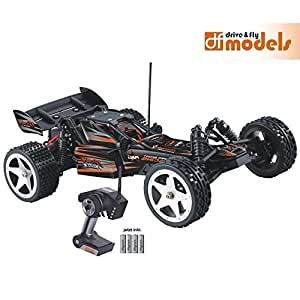 DF Mali Racing 1:12 Storm Fighter 2 RTR Waterproof Elektro Auto mit Lipo Akku und Balancer Lader 3044