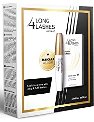 Long4Lashes FX5 Power Formula Wimpernserum 3ml + Pflegende Schwarz Mascara 10ml Gratis (by Oceanic)