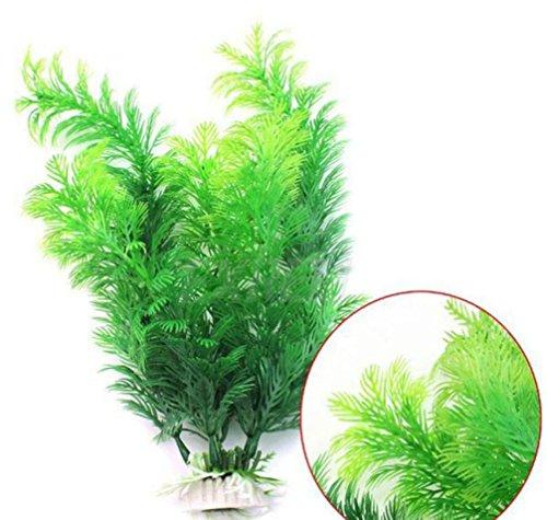 (Künstliche Wasserpflanze für Home Decor/Büros/Aquarien, Y56unschädliches Unkraut Wasser Ornament Deko Kunstblume Kunstpflanze Aquarium, 30cm)