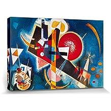 Vassili Kandinsky - En Azul, 1925 Cuadro, Lienzo Montado Sobre Bastidor (120 x 80cm)