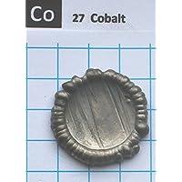 Pellet de metal de cobalto, 15 g, 99,83%, elemento 27 de muestra, envío gratis