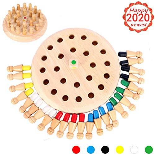 Jeu de Memory Match Stick en bois - Jeu d'échecs logique et casse-tête pour garçons et filles de...