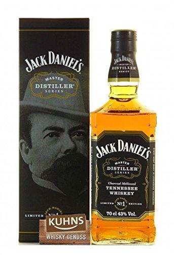 Rarität: Jack Daniel's Master Distiller No 1 Limitierte Edition mit Geschenkkarton 0,7l - Tennessee Whiskey (Daniels Jack Distillery)