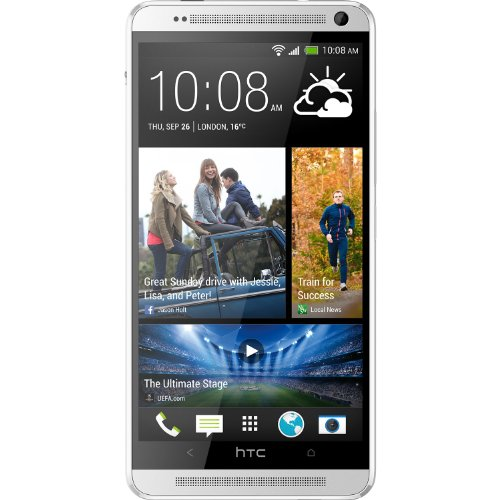HTC One MAX 16GB LTE 4G Smartphone (11,9 cm (4,7 Zoll) Touchscreen, 1,7GHz, micro SIM, Android) silber