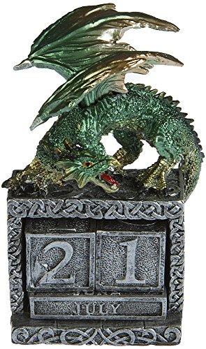 AST Deko Drachen Kalender Fantasy Gothic Mystic Dragon Halloween