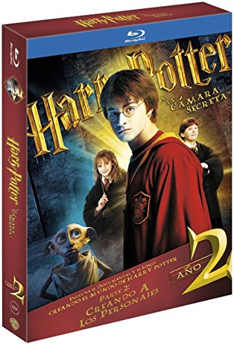 Harry Potter Y La Cámara Secreta. Nueva Edición Con Libro Blu-Ray [B