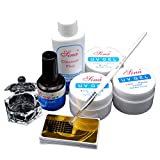 Fashion Galerie UV Gele Set UV Nageldesign Kit Nagelgele Satz Grudiergele Aufbau UV Gel Nail Art Starterset