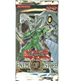 YuGiOh GX CCG Enemy of Justice 24 Count Booster Pack Box Lot [Toy] [Toy]