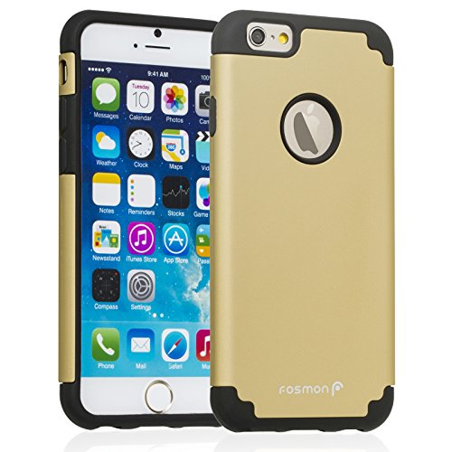 Fosmon HYBO-DUOC Detachable Hybrid Silicone + PC Case for Apple iPhone 6 (4.7