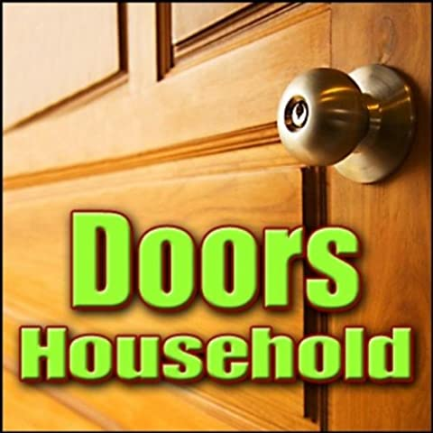 Door, Knock - Glass Door Or Window: Light Fist Knock On Exterior, Recorded From Interior, Door Crashes, Kicks & Hits, Glass Doors