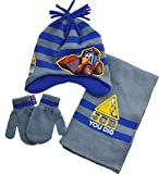 JCB Hat Scarf and Gloves Set Winter Set (4 to 8 Years)