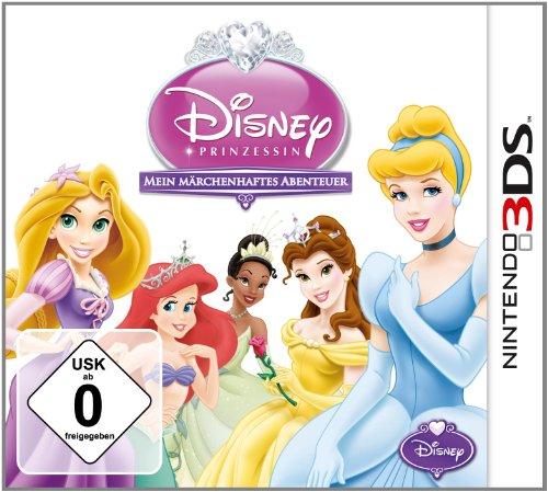 Disney Prinzessin - Mein Märchenhaftes Abenteuer - [Nintendo 3DS] (Prinzessin Tiana Zauberstab)