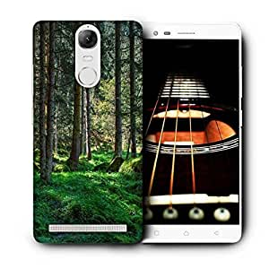 Snoogg Desnse Forest Printed Protective Phone Back Case Cover For Lenovo K5 Note