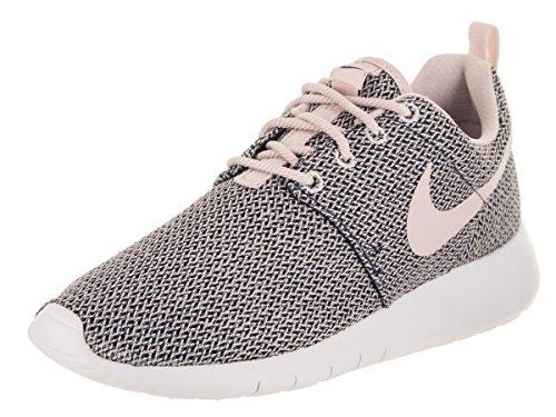 Nike Kids Roshe One (GS) Navy/Barely Rose White Running Shoe 6 Kids US
