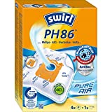 Swirl PH 86 AirSpace Staubsaugerbeutel 4 Beutel + 1 Filter