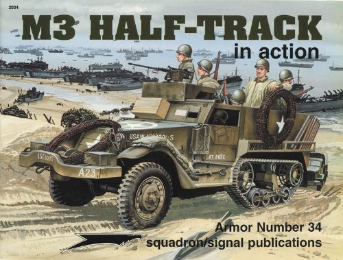 M3 Half-Track in Action - Armor No. 34
