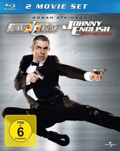 Johnny English 1 & 2 [Blu-ray]