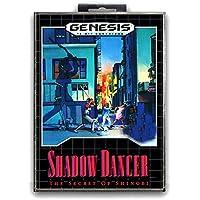 Jhana Shadow Dancer - le secret de Shinobi avec carte de jeu Sega MD Box 16 bits pour Mega Drive pour Genesis NTSC (JAP…